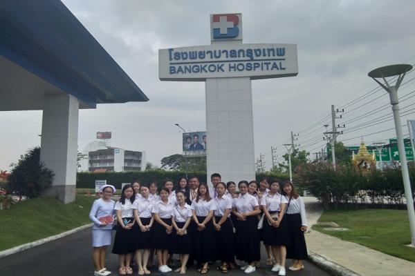 กิจกรรมทัศนศึกษานอกสถานที่ให้กับนักศึกษาของมหาวิทยาลัย Polus International College จากประเทศสาธารณรัฐประชาชนจีน มณฑลเสฉวน