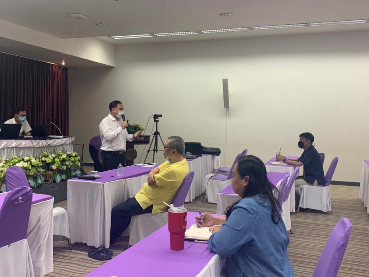 โครงการแลกเปลี่ยนเรียนรู้ รูปแบบใหม่ : การให้บริการประชุม / อบรม / สัมมนา (E-meeting) จัดการอบรมเชิงปฏิบัติการ Upskill ให้กับบุคลากรสำนักบริการวิชาการ