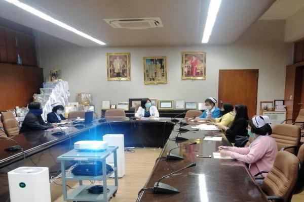 เข้าร่วมประชุมขอคำปรึกษาและแนวทางปฏิบัติการดูแลสถานที่ เพื่อเตรียมความพร้อมการป้องกันการระบาดของไวรัส COVID-19