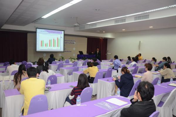 การประชุมรับฟังการชี้แจงการสนับสนุนงบประมาณ โครงการผลิตพนักงานกลุ่มศูนย์ความเป็นเลิศ ประจำปี 2563