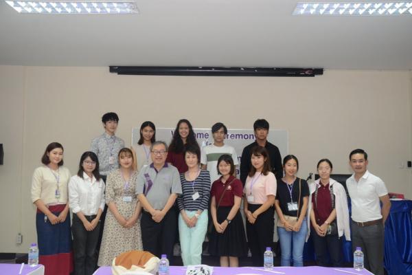 ต้อนรับนักศึกษาจากมหาวิทยาลัยในโตเกียวจำนวน 6 คน ซึ่งเข้าร่วมโครงการ I CAN JAPAN