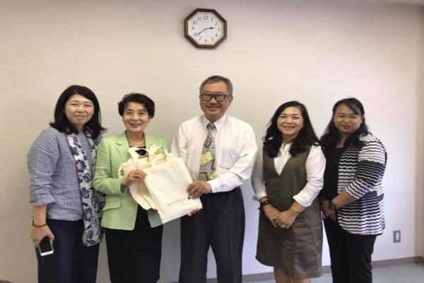 เยี่ยมเยือนพบปะผู้บริหาร มหาวิทยาลัยเคเซน (Keisen University) ประเทศญี่ปุ่น