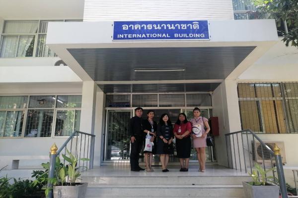 เข้าพบผู้แทนของศูนย์ภูมิภาคด้านสังคมศาสตร์และการพัฒนาอย่างยั่งยืน (RCSD The Regional Center for Social Science and Sustainable Development) คณะสังคมศา