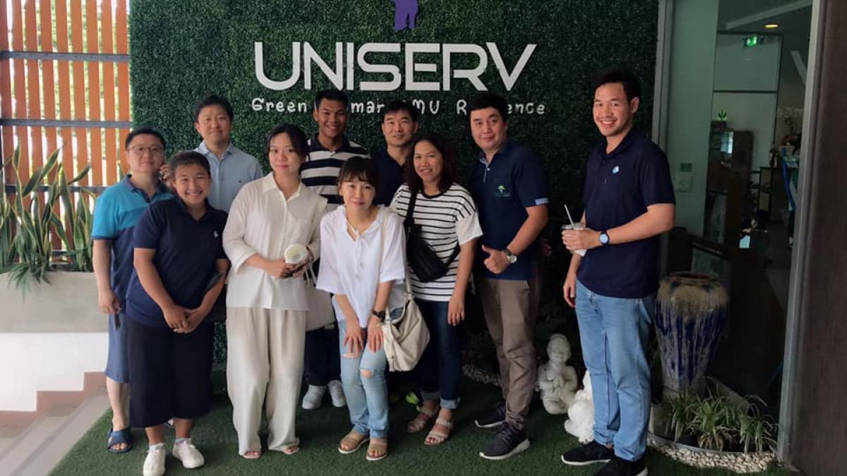 ต้อนรับผู้ร่วมอบรมโครงการ 2019 Thailand Bible Seminar at Ching Mai