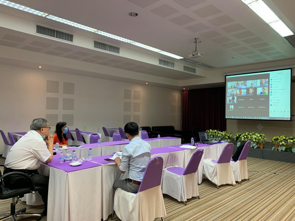 การประชุมคณะกรรมการบริหารเครือข่ายบริการวิชาการสถาบันอุดมศึกษาไทย ครั้งที่2/2564