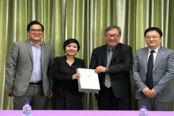 ประชุมความร่วมมือทางวิชาการ ร่วมกับสถาบันขงจื่อฝ่ายจีน