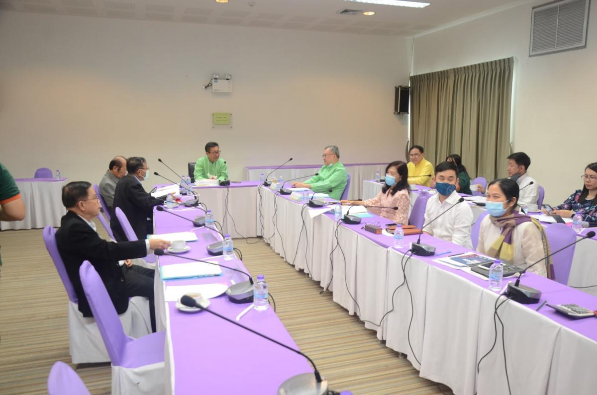 ประชุมคณะกรรมการอำนวยการ เพื่อพิจารณาสรุปผลการดำเนินงานประจำปีงบประมาณปี พ.ศ. 2564 ไตรมาสที่ 2 (1 มกราคม - 31 มีนาคม 2564)