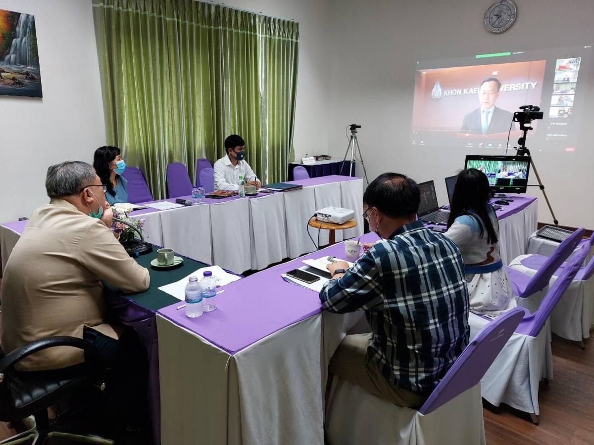 ประชุมเครือข่ายบริการวิชาการสถาบันอุดมศึกษาไทย สามัญประจำปี ครั้งที่1/2564 เพื่อแลกเปลี่ยนเรียนรู้แนวคิด นวัตกรรมในการบริการวิชาการแก่ชุมชนฯ
