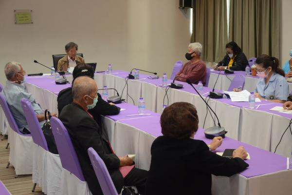 สำนักงานกองทุนสนับสนุนการสร้างเสริมสุขภาพ (สสส.) จัดประชุมประสานนโยบายผู้สูงอายุจังหวัดเชียงใหม่