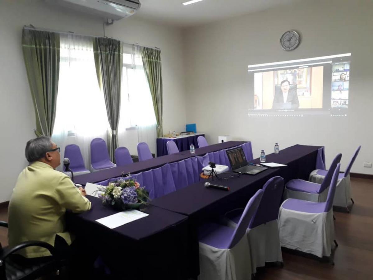 พิธีเปิด โครงการอบรมภาษาจีนเพื่อพิชิตข้อสอบ HSK สำหรับนักเรียน ครู และบุคลากรทางการศึกษา