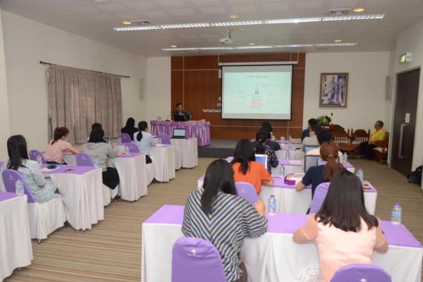 รอบรมเพื่อพัฒนาบุคลากรสำนักบริการวิชาการ ด้านการใช้เทคโนโลยีในการปฏิบัติงาน เรื่อง การใช้งานระบบบริหารจัดการ การปฏิบัติงานภายในสำนักบริการวิชาการ (E-U